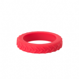 Tread Bangle (child) - 'Nee Naw' (red) - Chewigem
